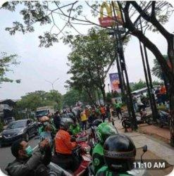Sempat Ramai Antrean Promo McD X BTS di Serpong, Driver Ojol Pilih Tunggu 2 Jam di Rumah