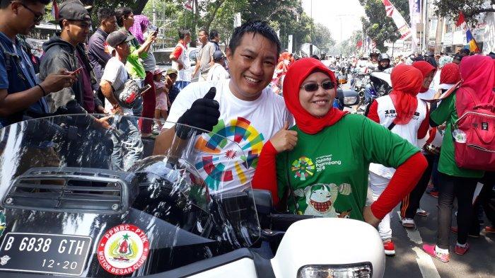 Menteri PPN Direncanakan Bawa Bawa Obor Torch Relay Asian Games di Jakarta Barat