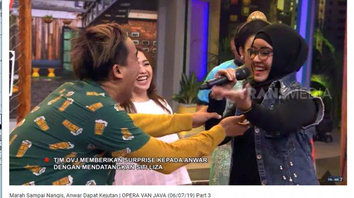 Kedatangan Penyanyi Pop Melayu, Anwar Sanjaya Teriak Histeris Tak Menyangka: Oh My God!