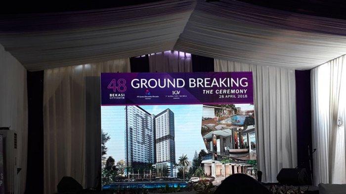 Usung Konsep Skandinavia, Apartemen 48 Bekasi City Center Lakukan Groundbreaking