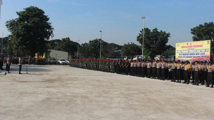 Ada TPS di Bandara Soekarno-Hatta, Ribuan Aparat  Gabungan Polisi dan Tentara Diterjunkan