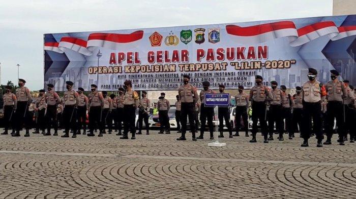 TNI-Polri Siapkan Puluhan Ribu Personeluntuk Pengamanan Nataru 2021