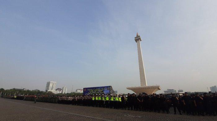 Demi Keamanan dan Kenyamanan Pengunjung Monas, 394 Petugas Disiagakan