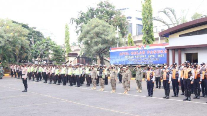 500 Personel Gabungan Dikerahkan Selama Operasi Ketupat Jaya 2021 di Jakarta Utara