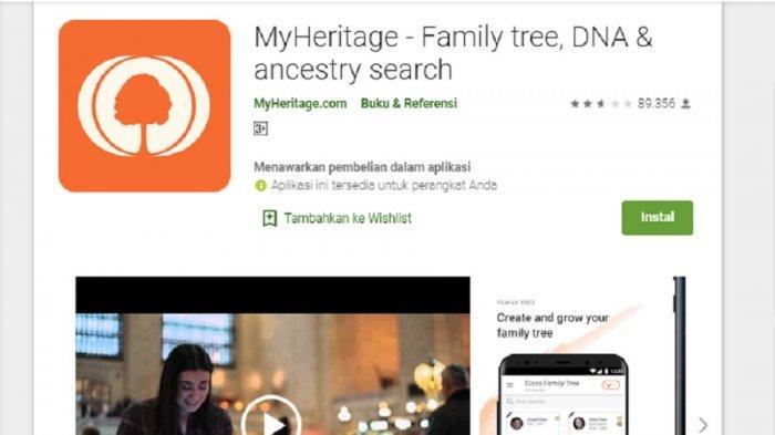 Aplikasi Edit Foto MyHeritage Sedang Viral, Begini Cara Pakainya