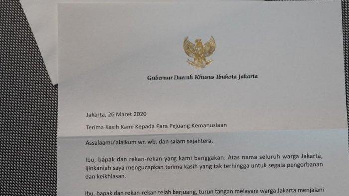 Apresiasi Pejuang Kemanusiaan, Gubernur Anies: Jakarta Bangga dengan Kalian Semua