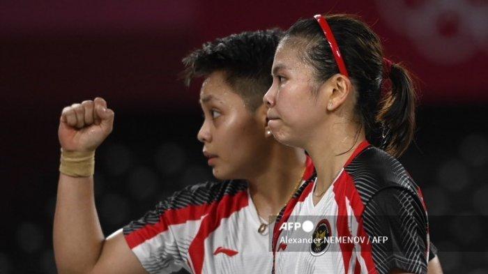 Si Murah Senyum Greysia/Apriyani Lolos ke Final Usai Kalahkan Pasangan Korea Selatan Lee/Shin