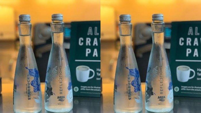 Intip Desain Kece Botol Ramah Lingkungan Kolaborasi Aqua & Starbucks