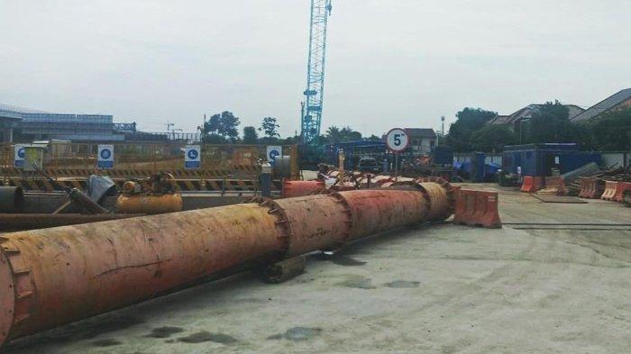 Jadi Penyebab Banjir di Bekasi, Proyek Kereta Cepat Jakarta Bandung Dihentikan Sementara