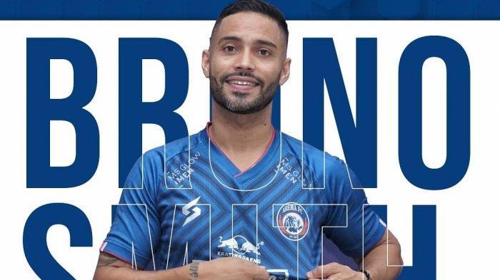Liga 1 2020 Tak Jelas, Arema Tetap Rekrut Bruno Smith