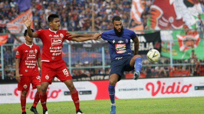 Persija Jakarta Vs Persipura Pukul 18.30 WIB, Bisa Lihat Via Link Live Streaming