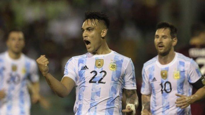 Hasil Kualifikasi Piala Dunia 2022, Argentina Taklukan Venezuela, Lionel Messi Kena Tekel Horor