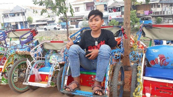 Cerita Ari Anggara, Bocah Penjaga Becak Sewa di RPTRA Kalijodo Bermimpi jadi Sekuriti