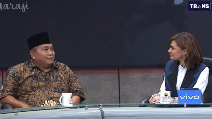 Arief Poyuono Beri Nilai 99 Kabinet Jokowi - Maruf Amin, Celetukan Najwa Shihab Buat Heboh Penonton