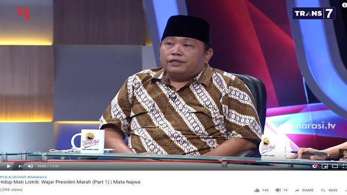 Tahu Mati Listrik Makan Korban Jiwa, Arief Poyuono Bersuara Lantang: Direksi PLN Kita Penjara Semua