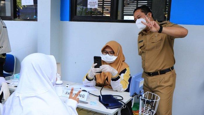 Pemkot Tangerang Uji Coba Mekanisme Baru Pendaftaran Vaksinasi Covid-19 Untuk Remaja