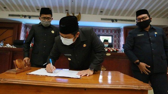 APBD Kota Tangerang Tahun 2021 Ditetapkan Sebesar Rp 4,34 Triliun