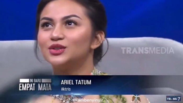 Dengar Ariel Tatum Cerita Pengalaman Horornya di Mal, Tukul Arwana Kesal Sampai Tinggalkan Kursi