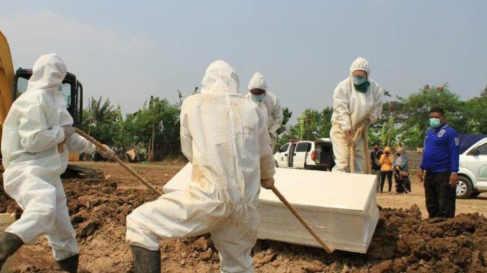 Angka Pemakaman dengan Protap Covid-19 di DKI Turun Selama Masa PPKM Darurat