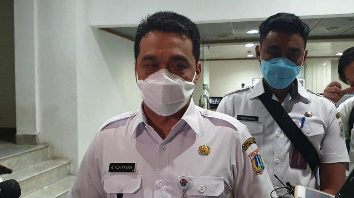 Gubernur DKI Jakarta Ahmad Riza Patria saat ditemui di Balai Kota, Rabu (7/4/2021).