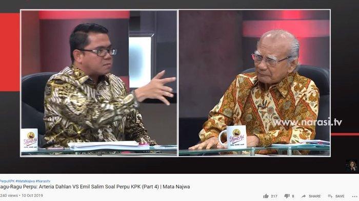 Arteria Dahlan Maki & Tunjuk Prof Emil Salim dengan Kasar, Sudjiwo Tedjo Minta Megawati Turun Tangan