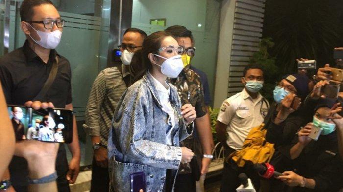 Ucapan Gisel Tersangka Kasus Video Syur setelah 10 Jam Diperiksa, Sebut Nama Mas Gading