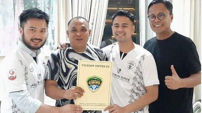 Setelah Kaesang Kini Raffi Ahmad Akuisisi Klub Liga 2 Cilegon United dan Rumor Hamka Hamzah