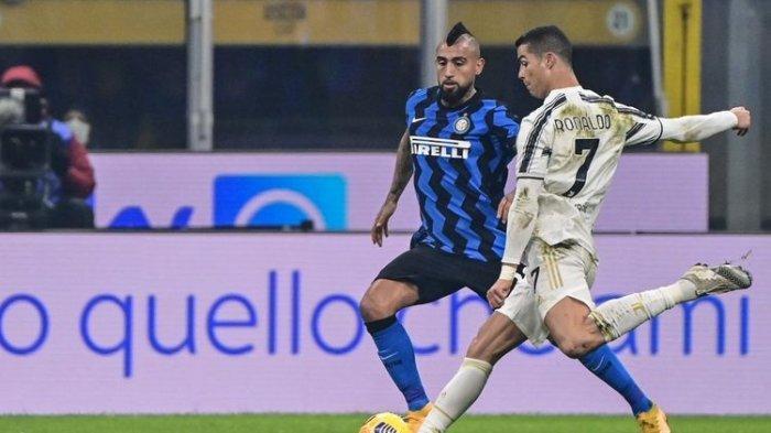 Sepasang Gol Cristiano Ronaldo Antarkan Satu Kaki Juventus di Final Coppa Italia