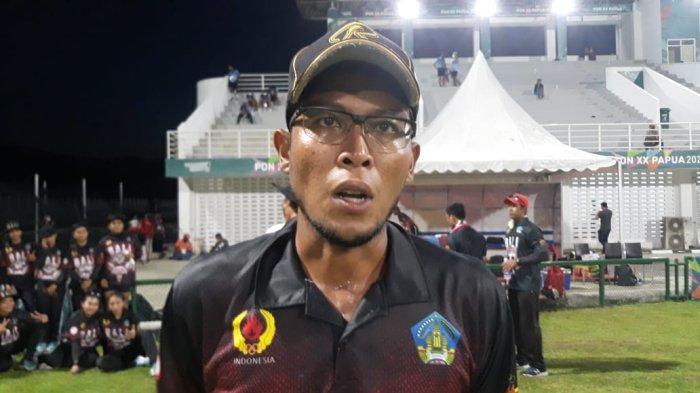 Kapten tim cricket putra Bali, I Ketut Arya Pastika saat ditemui di Arena Crciket, Doyo Baru, Kabupaten Jayapura.