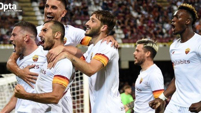 AS Roma Menang Tipis atas Udinese, Napoli Geser Inter Milan di Puncak Klasemen