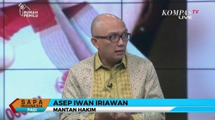 Reaksi Mantan Hakim Asep Iwan Iriawan Soal Pemerintah Beri Hadiah Rp 200 Juta Bagi Pelapor Korupsi