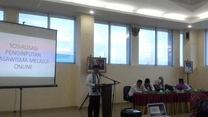 Sosialisasi Teknik Aplikasi Dasawisma untuk Kemudahan Pendataan Masyarakat Berbasis Online