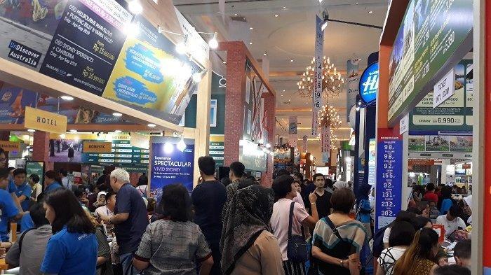 Hari Terakhir Digelar, Pengunjung Serbu Astindo Travel Fair 2019 di JCC
