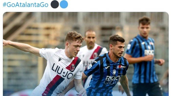 Hasil dan Klasemen Liga Italia Serie A: Kalahkan Bologna, Atlanta Geser Inter Milan