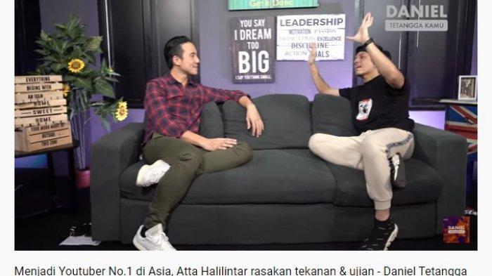 Jadi YouTuber Nomor 1 di Asia, Atta Halilintar Akui Rasakan Tekanan Berat: Bukan Posisi yang Enak