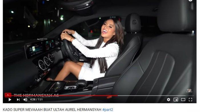 Dapat Hadiah Mobil Mewah di Hari Ulang Tahunnya, Aurel Hermansyah: Aku Gak Bisa Bawa Mobil