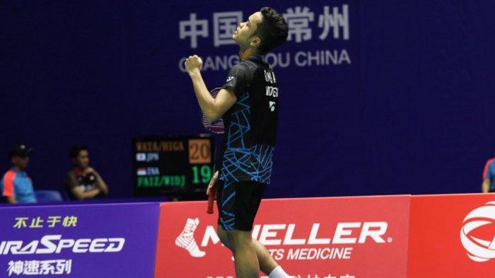 Live Streaming China Open 2018 Pukul 12.00 WIB, Anthony Ginting Melawan Wakil Jepang Kento Momota