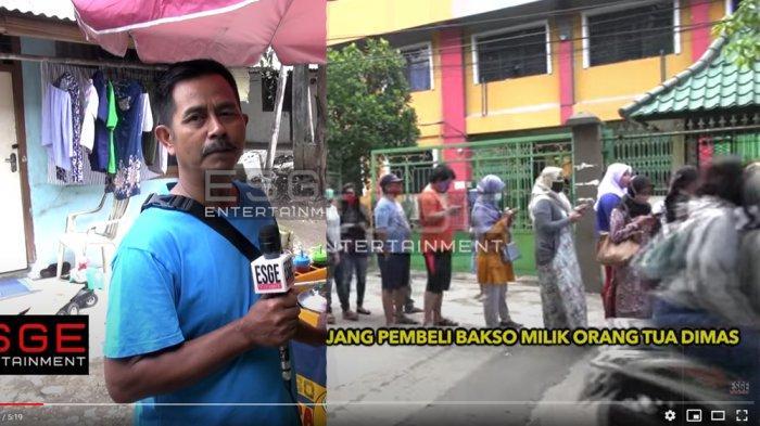 Antrian Pembeli Bakso Ikan Ayah Dimas Ahmad Mengular Tiap Hari, Penghasilan Naik Drastis Sejak Viral