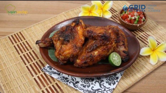 Resep Ayam Bakar Bumbu Jimbaran, Cocok untuk Menu di Malam Tahun Baru