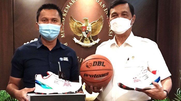 Menteri Luhut Dukung Honda DBL Indonesia Jadi Percontohan Pelaksanaan Event Olahraga