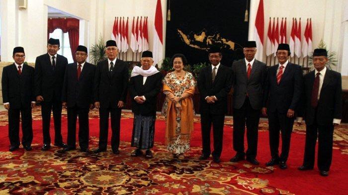Presiden Jokowi Penuhi Permintaan Megawati Untuk Mencari Pengganti Maruf Amin dan Mahfud MD di BPIP