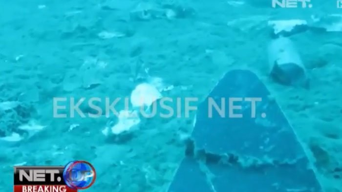 Ditemukan di Kedalaman 32,5 Meter, Berikut Penampakan Potongan Badan Lion Air PK-LQP