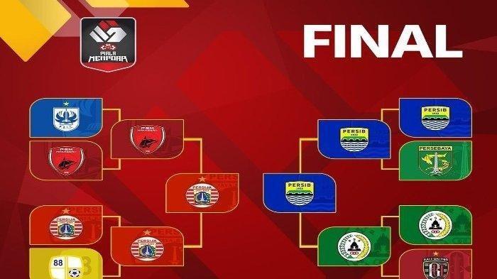 Cek LIVE Streaming Laga Final Piala Menpora Persija Jakarta vs Persib Bandung di Indosiar Malam Ini