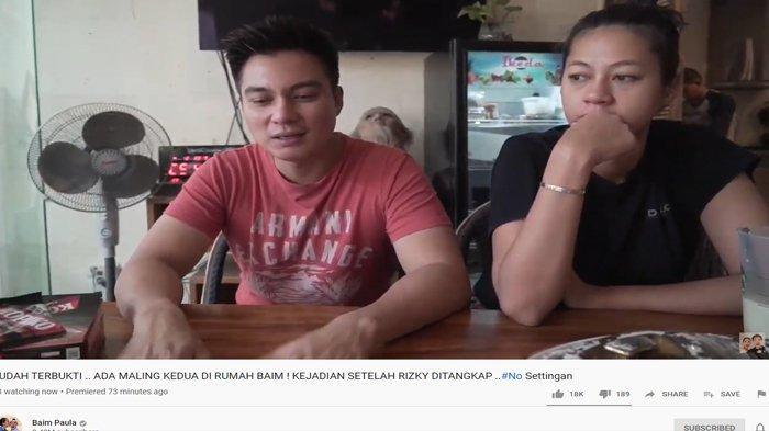 Kemalingan Dua Kali, Baim Wong dan Paula Beberkan Ciri-ciri Pelaku dan Modusnya
