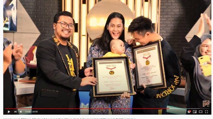 Baim Wong Berhasil Raih 2 Rekor MURI Sekaligus, Raffi Ahmad Beri Nasihat Ini: Kita Cinta Damai