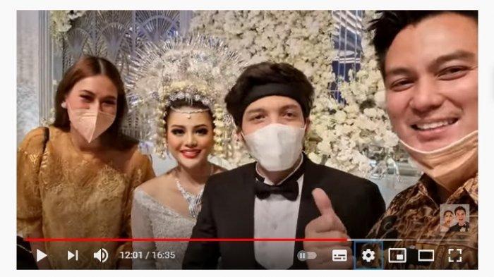 Unboxing Souvenir Mewah Pernikahan Atta dan Aurel, Paula dan Baim Wong Tertawa saat Lihat Isinya