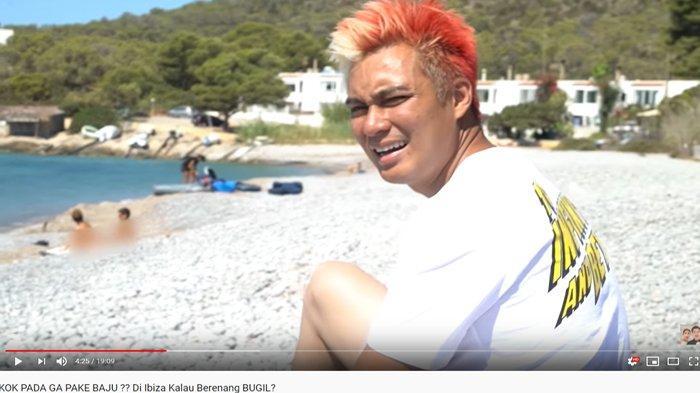 Baim Wong Heran Lihat Pengunjung Pantai Ibiza Berjemur Sambil Bugil: Untung Paula Gak Ikut Ya