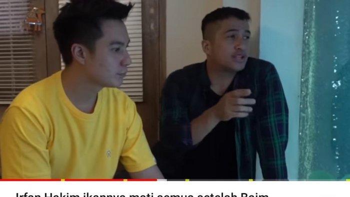 Prihatin dengan Musibah yang Menimpa Irfan Hakim, Baim Wong Ngaku Sempat Diberi Ini saat Berkunjung