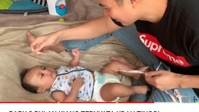 Paula Verhoeven Kaget Tahu Panjang Kiano yang Belum Genap 4 Bulan, Baim Wong: Emaknya Tinggi Banget!