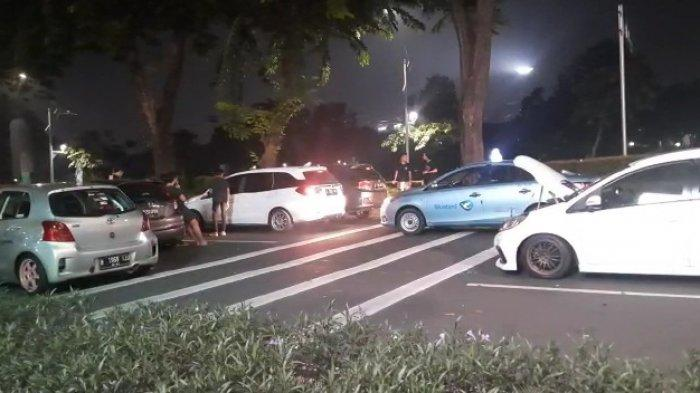 Viral Video Balapan Mobil di Dekat GBK Jakarta Pusat saat Penerapan PPKM Level 4